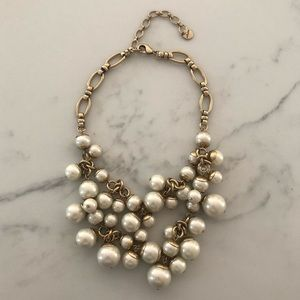 Stella And Dot Daphne Pearl Necklace